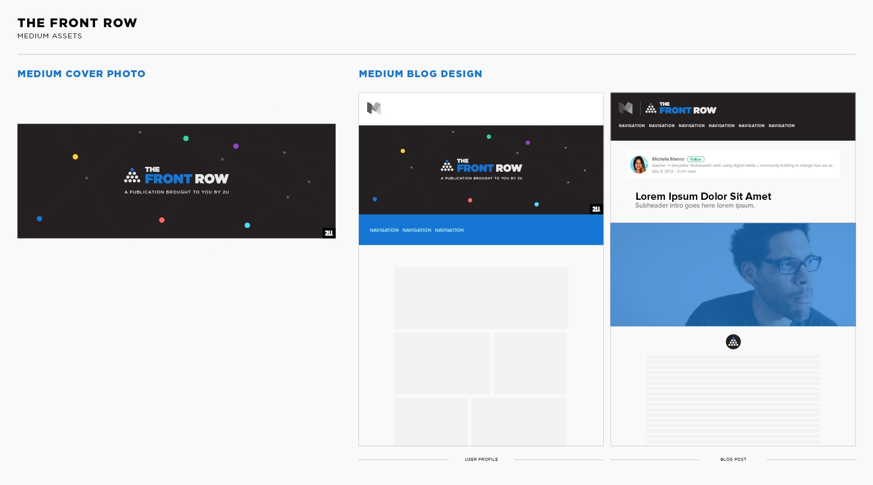 Medium Blog Design