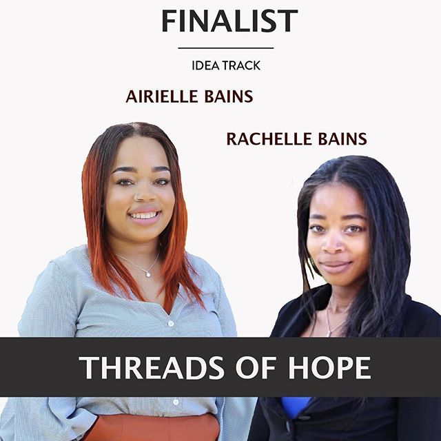 FINALIST FEATURE: THREADS OF HOPE Edition. These two sisters have a business IDEA built on Hope. Watch them PITCH their inspirational idea to bring hope to hospitals Tuesday, March 26th @ 6PM in UTCC❗️❕❗️