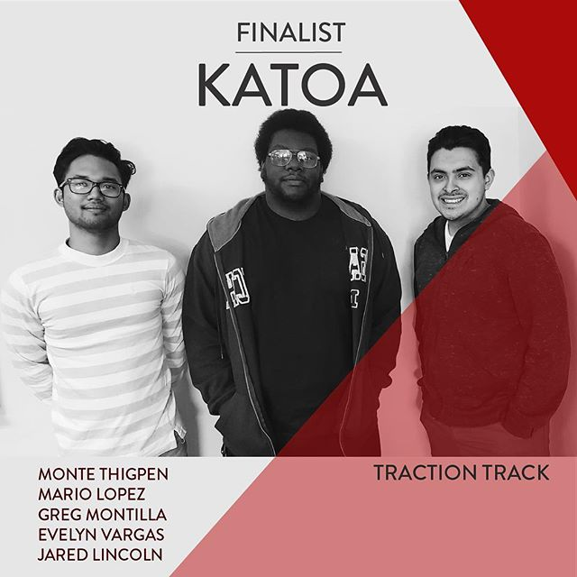 "FINALIST FEATURE: KATOA Edition. This team is taking on Traction Track by bringing ""Elope"" a whole knew meaning, revolutionizing how you SAVE money. We'll leave it at that. Find out what this is all about Tuesday, March 26th @ 6 PM in UTCC‼️💸💡"