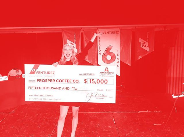Congratulations to Prosper Coffee Co. for winning FIRST PLACE in the Traction Track of season 6 PITCH❗️ Savannah Case is the founder of Prosper Coffee Co. and has been awarded $15,000 for her business! Prosper is a cold brew coffee line that features CBD in select brews!