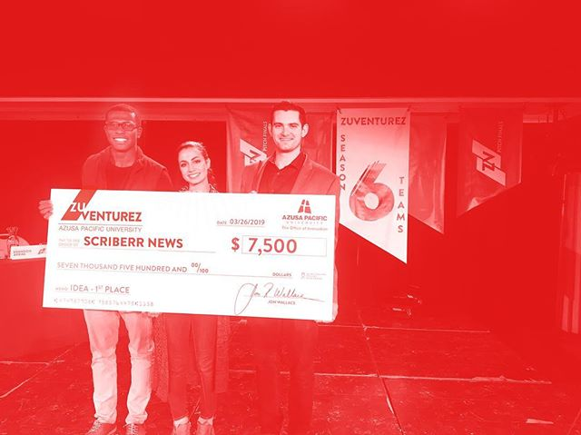 CONGRATULATIONS to Scriberr News for winning FIRST PLACE in the Ideation Track of season 6 PITCH❗️Scriberr News has been awarded $7,500 for their business idea! Their business idea involves creating a journalist platform that only produces 100% true news!  #TheFinals #FirstPlace