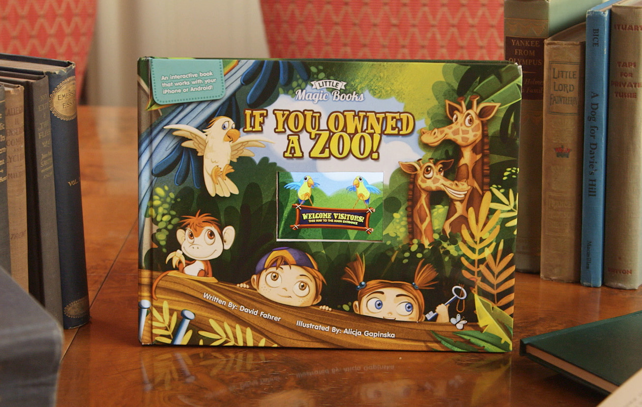The first Little Magic Book: If you Owned A Zoo!