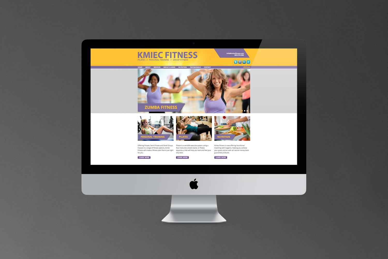 Kmiec Fitness // Website