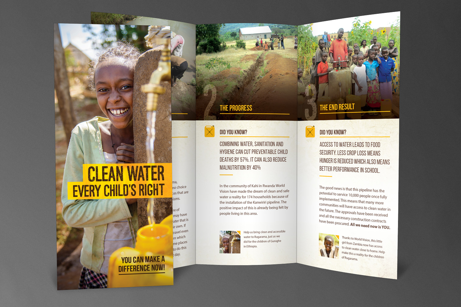 World Vision Canada // Appeal Brochure