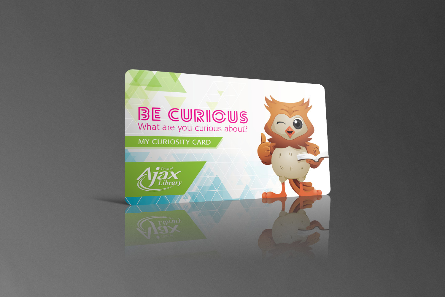 Ajax Public Library // Be Curious Library Card