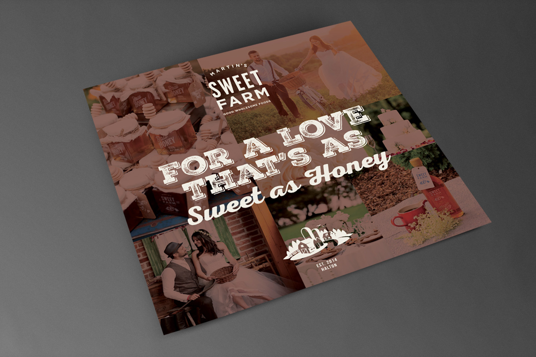 Martin's Sweet Farm // Postcard