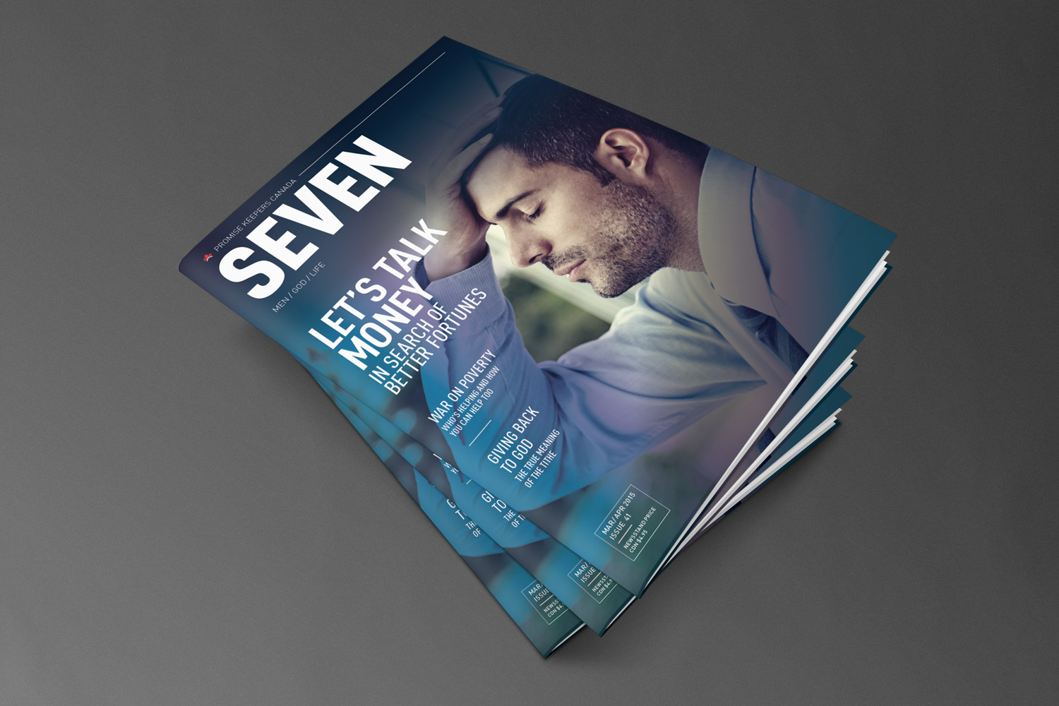 Promise Keepers Canada // SEVEN Magazine
