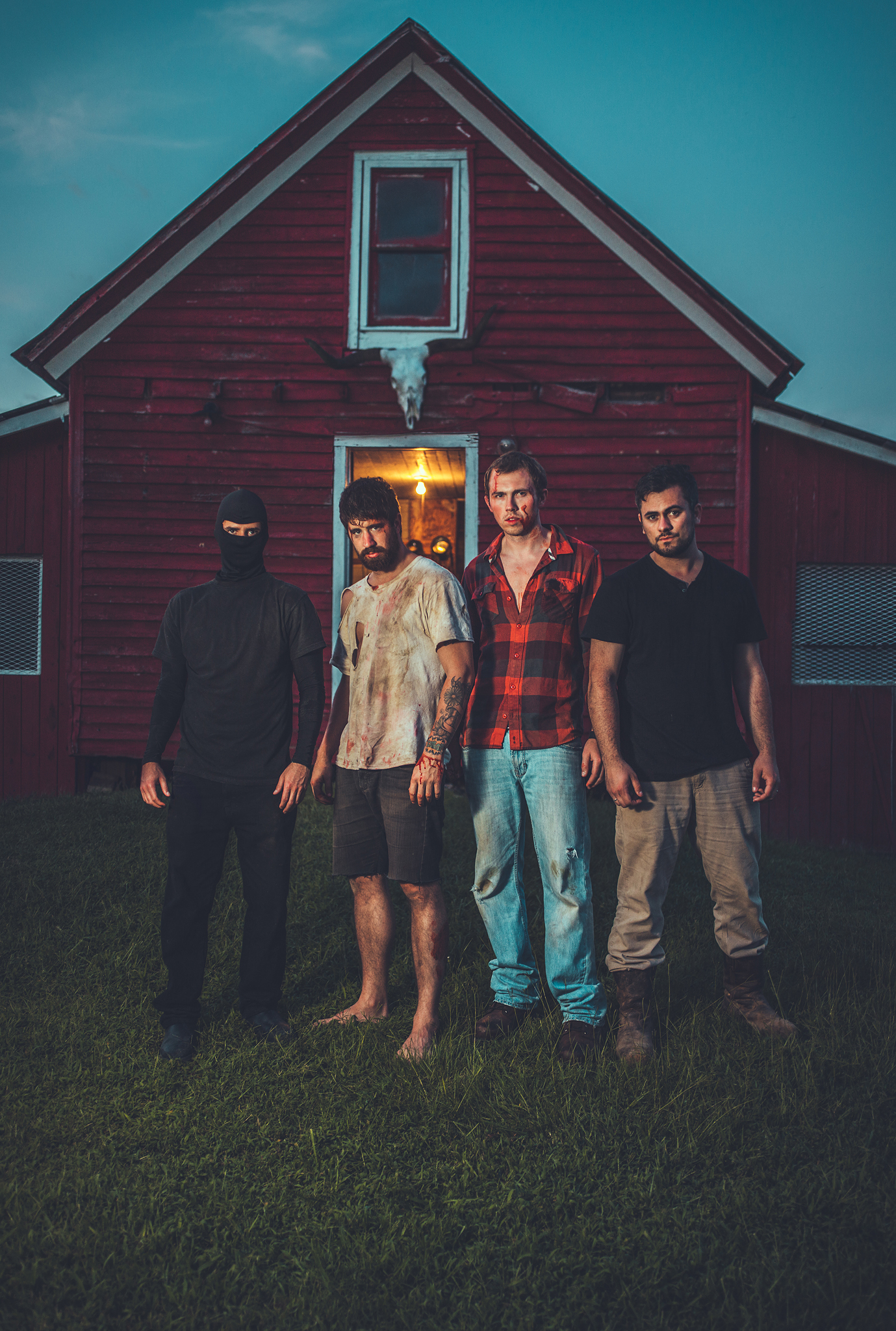 Blake, Adam, Garrett, Matt - Bustin' ass on day two
