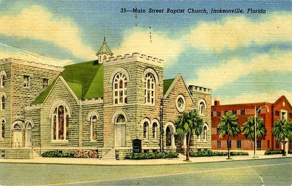 Main Street Baptist 1950's