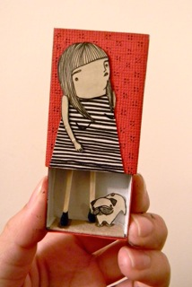 Mai Ly Matchbox Doll