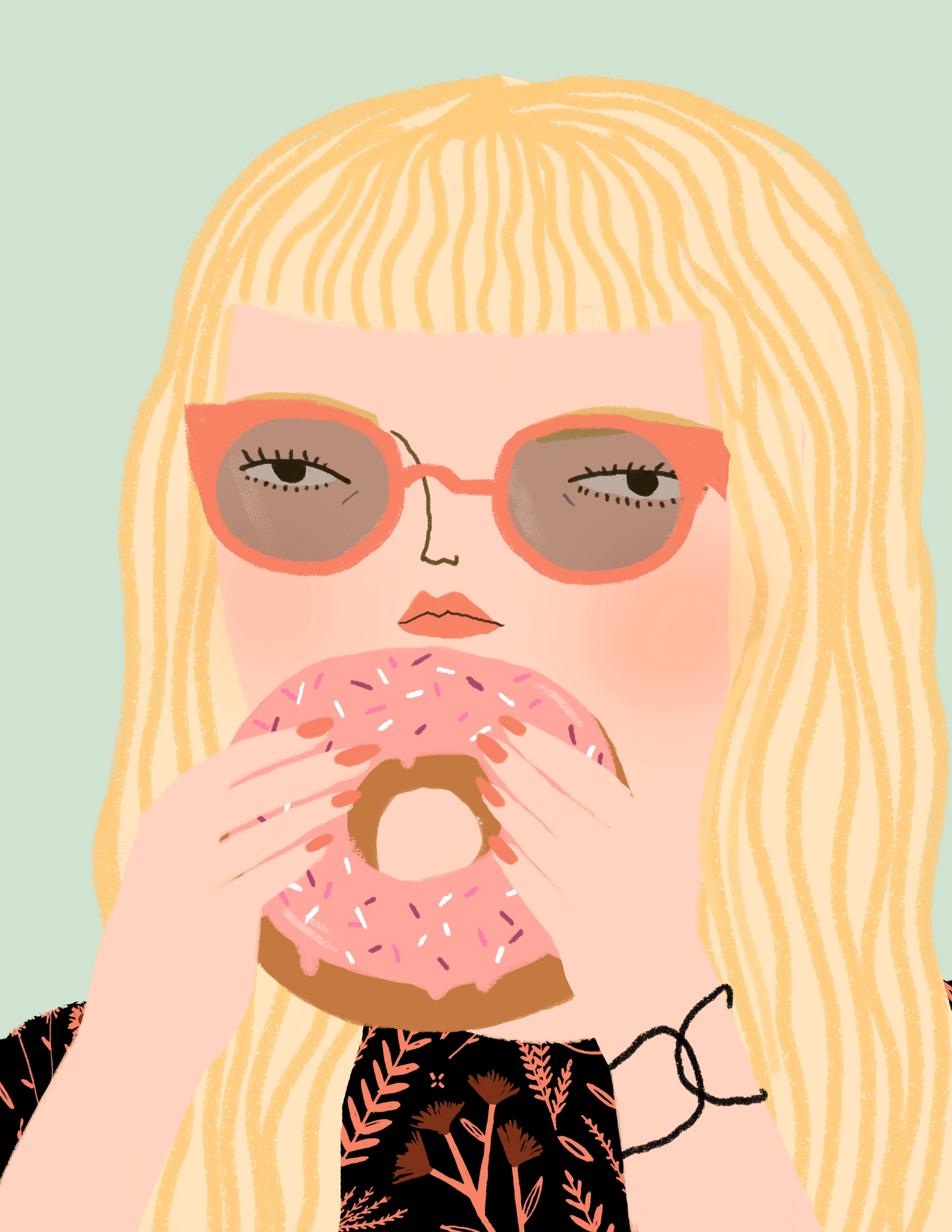 Lady and Sweets Series