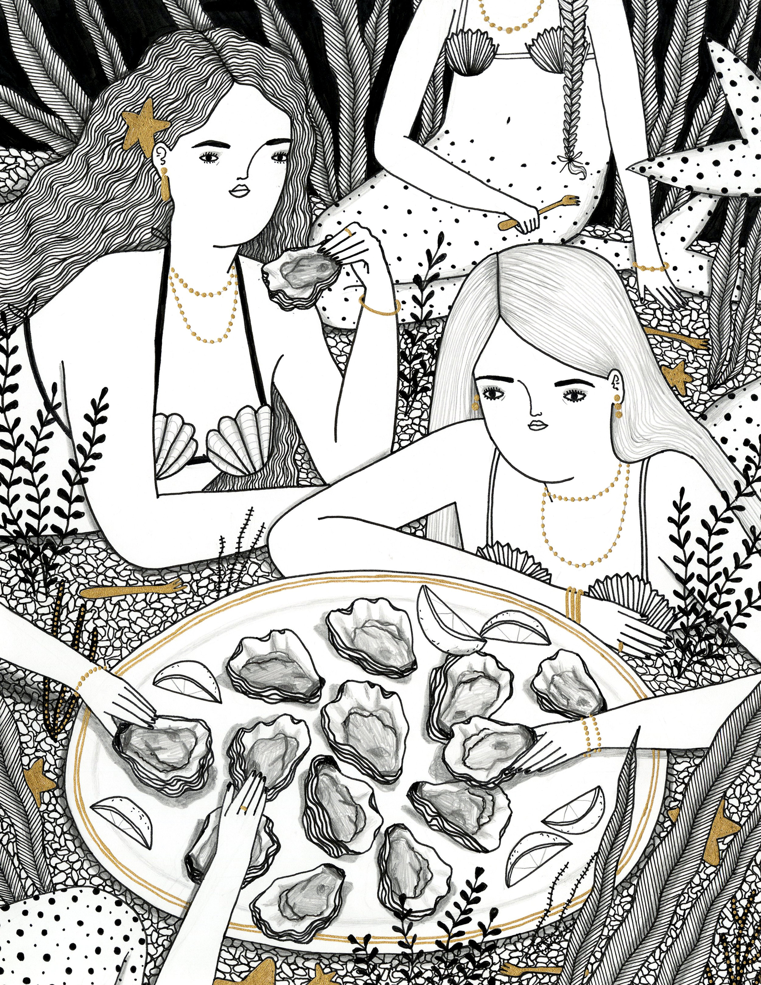 Oyster Mermaids