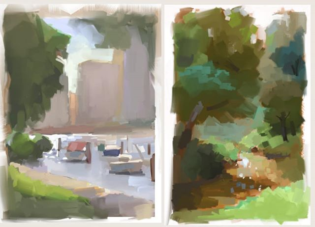 Old studies from life