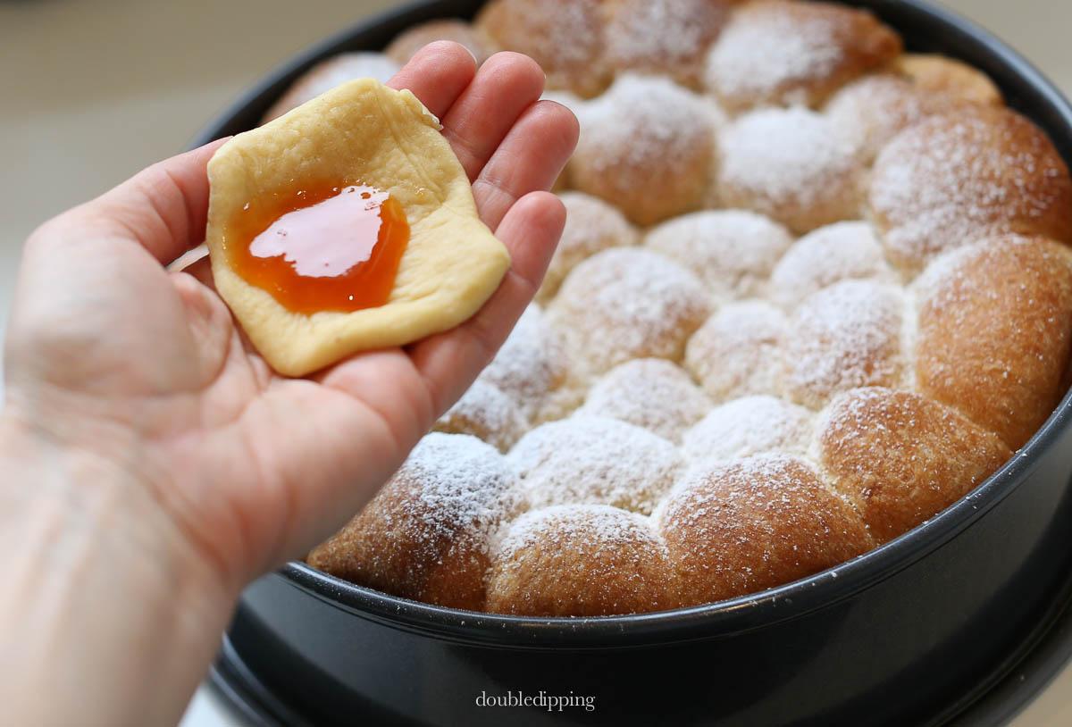 Austrian Dessert Buchteln Recipe Rezept