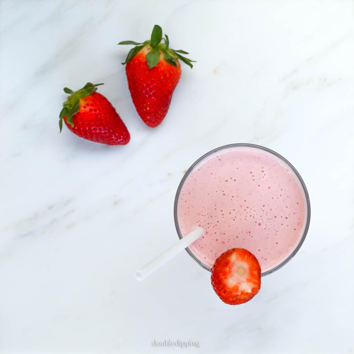 Strawberry Yoghurt Smoothie