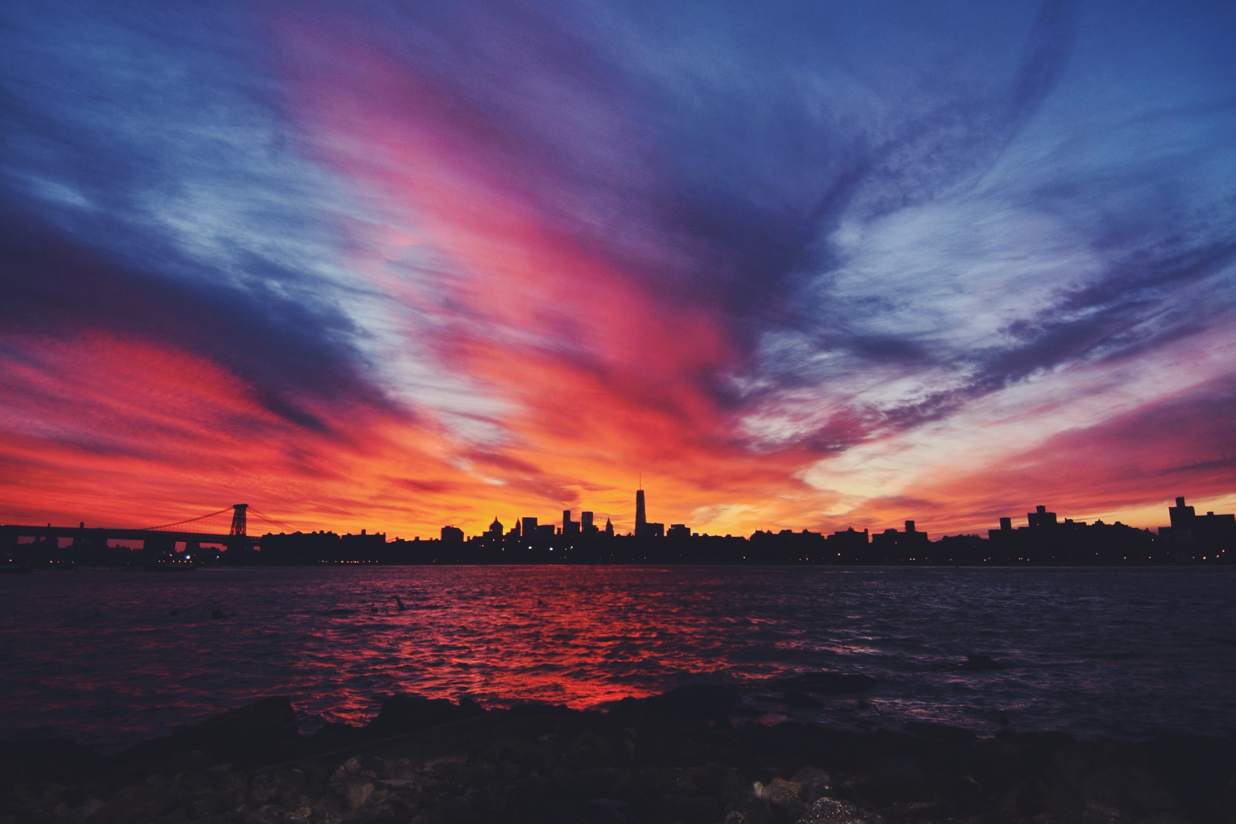 Greenpoint Waterfront Fiery Sunset.jpg