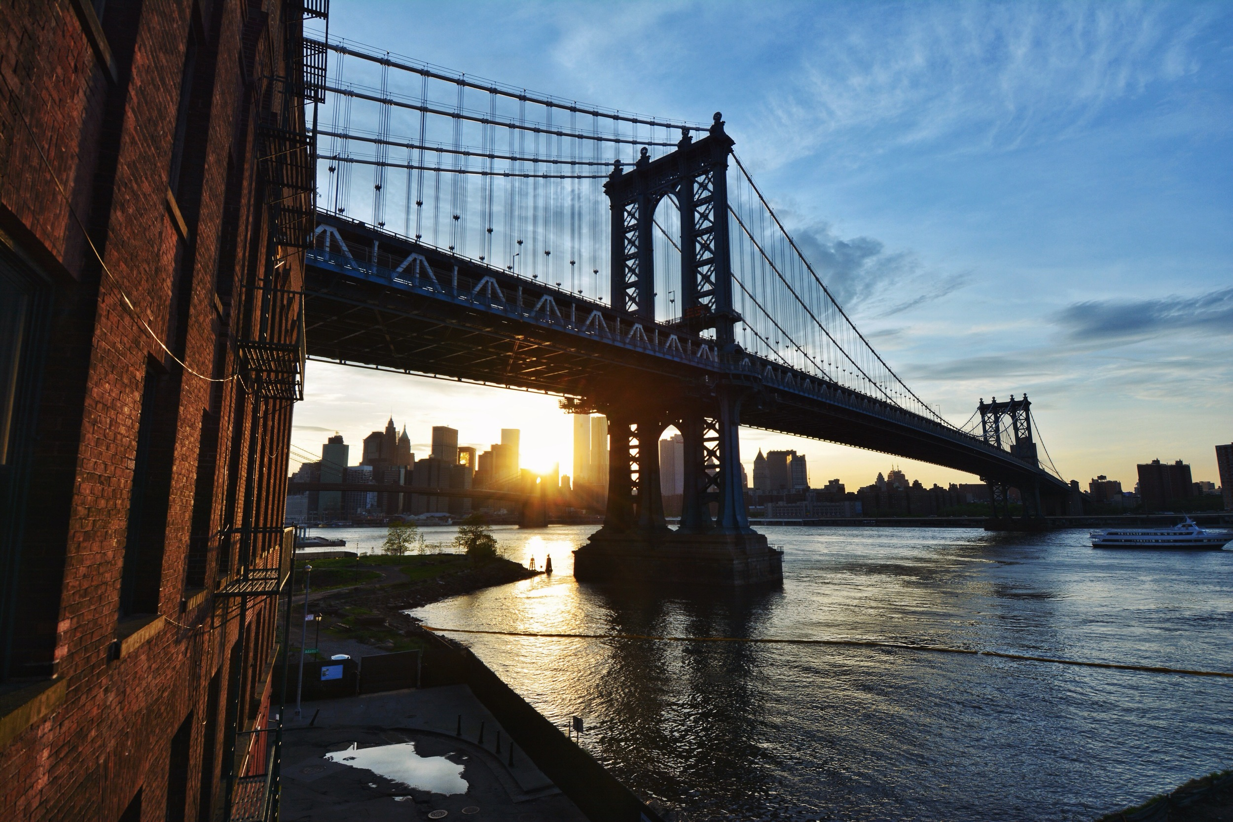Sun Under Manhattan Bridge.jpg