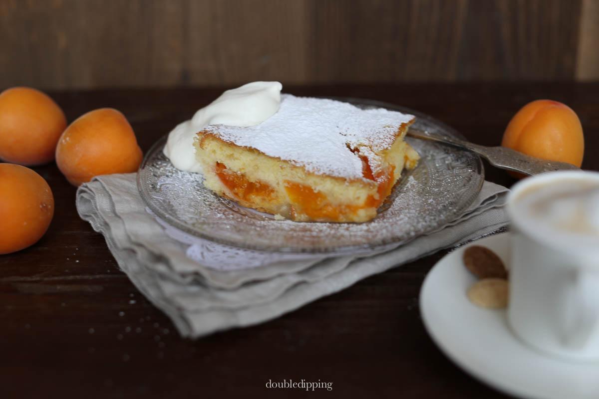 Glutenfree Apricot Cake