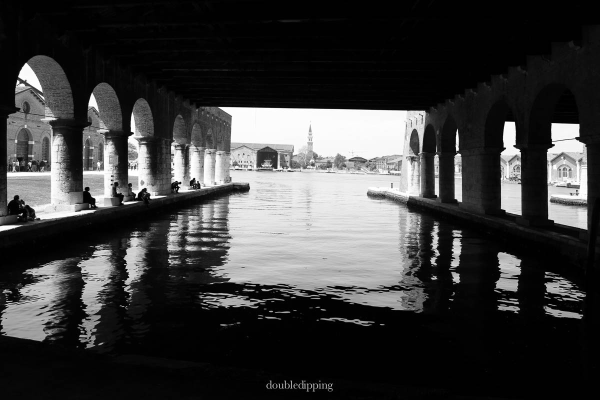 Black and White Venice