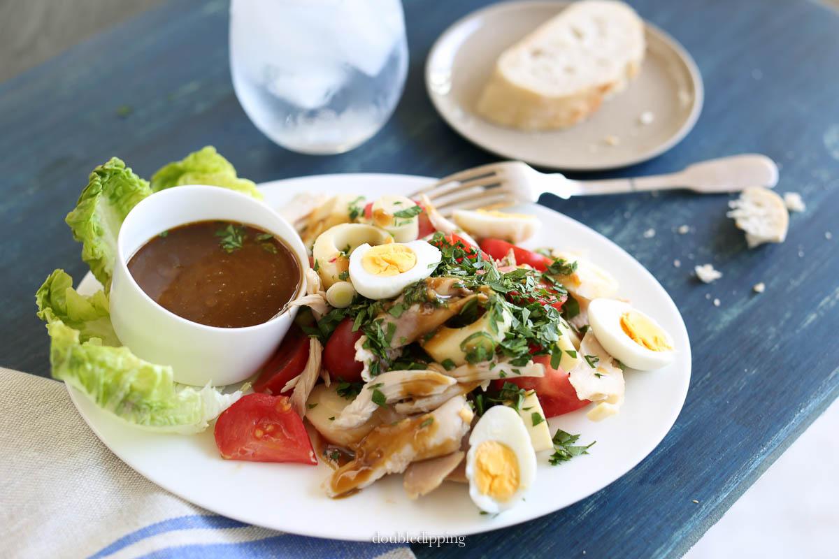 Chicken Palm-heart Salad