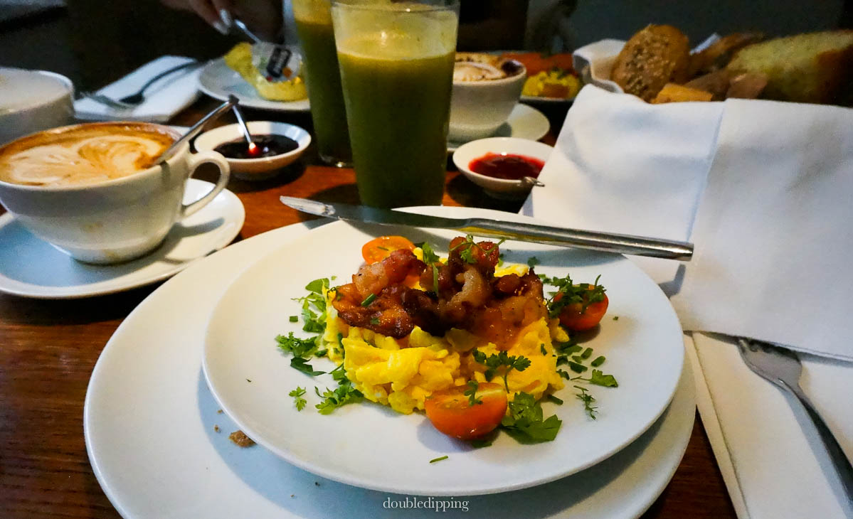 Breakfast at Claus Restaurant Paris