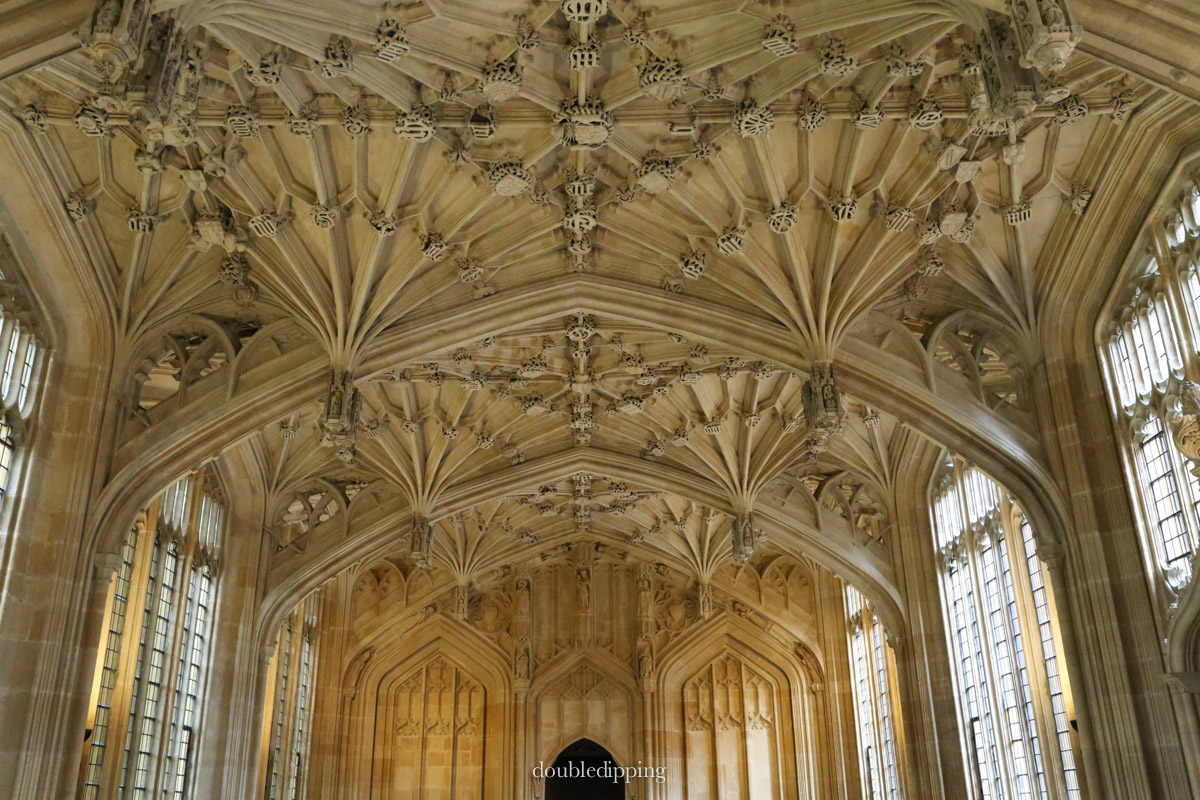 This Library at the Bodleian College was used for the Harry Potter movie