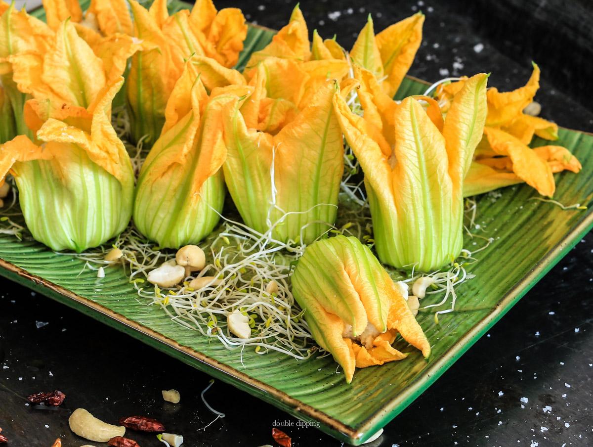 Filled Zucchini flower