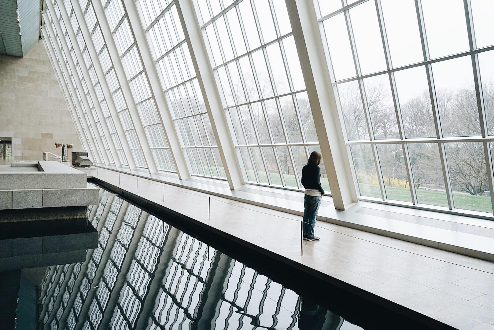 Empty Met Museum of New York