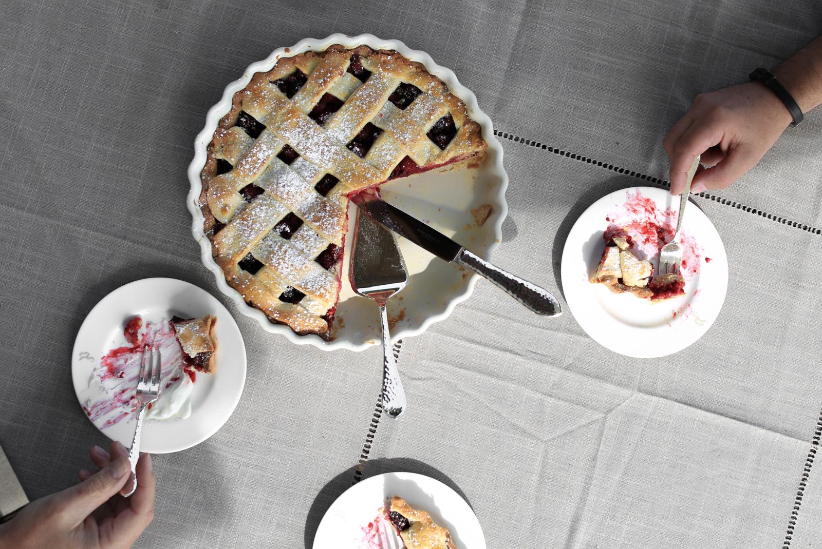 Pie for dessert