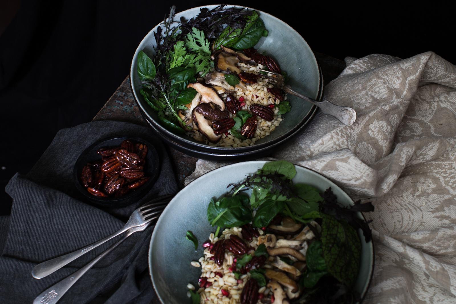 Shitake salad