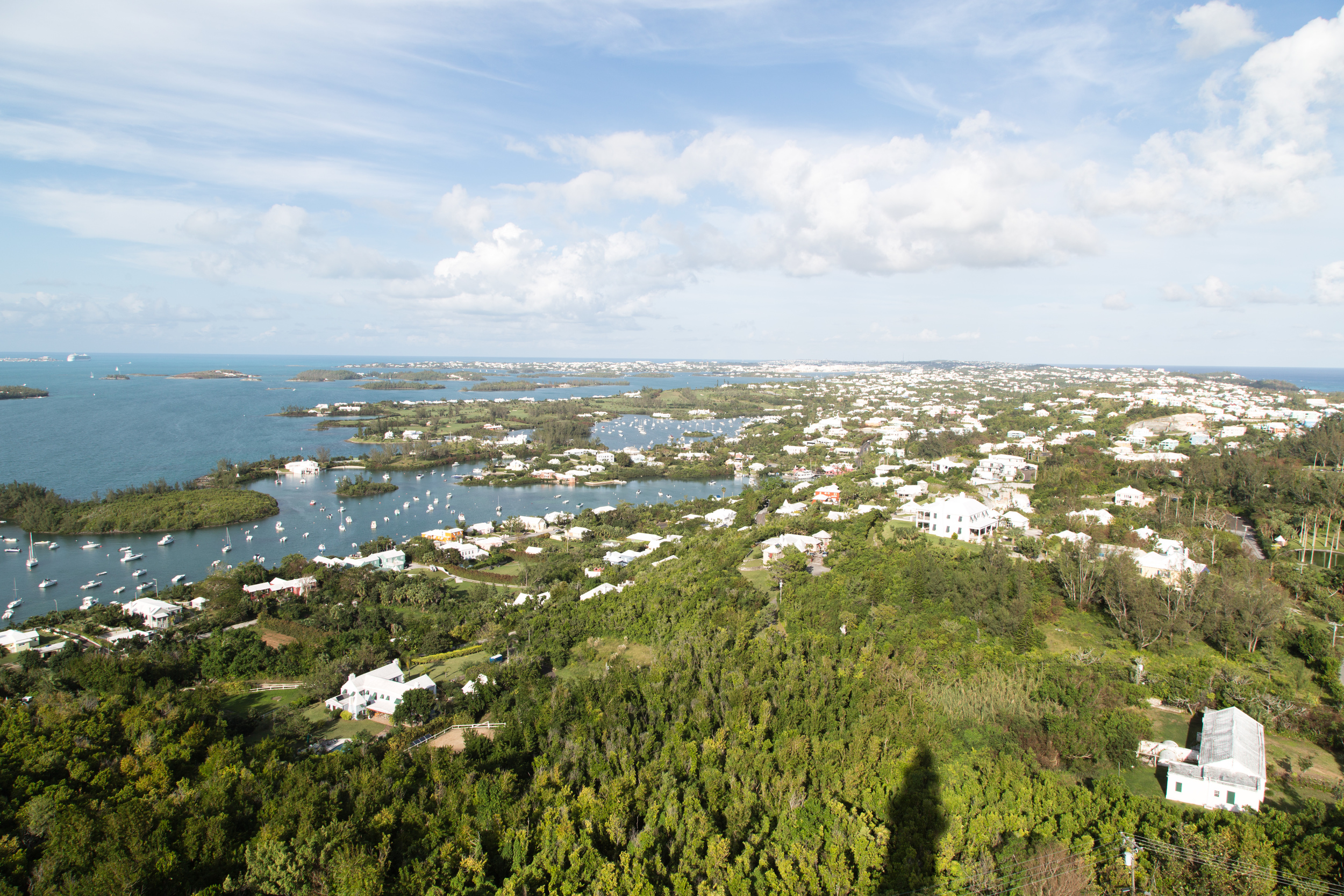 View from Gibbsl Hill Loghthouse