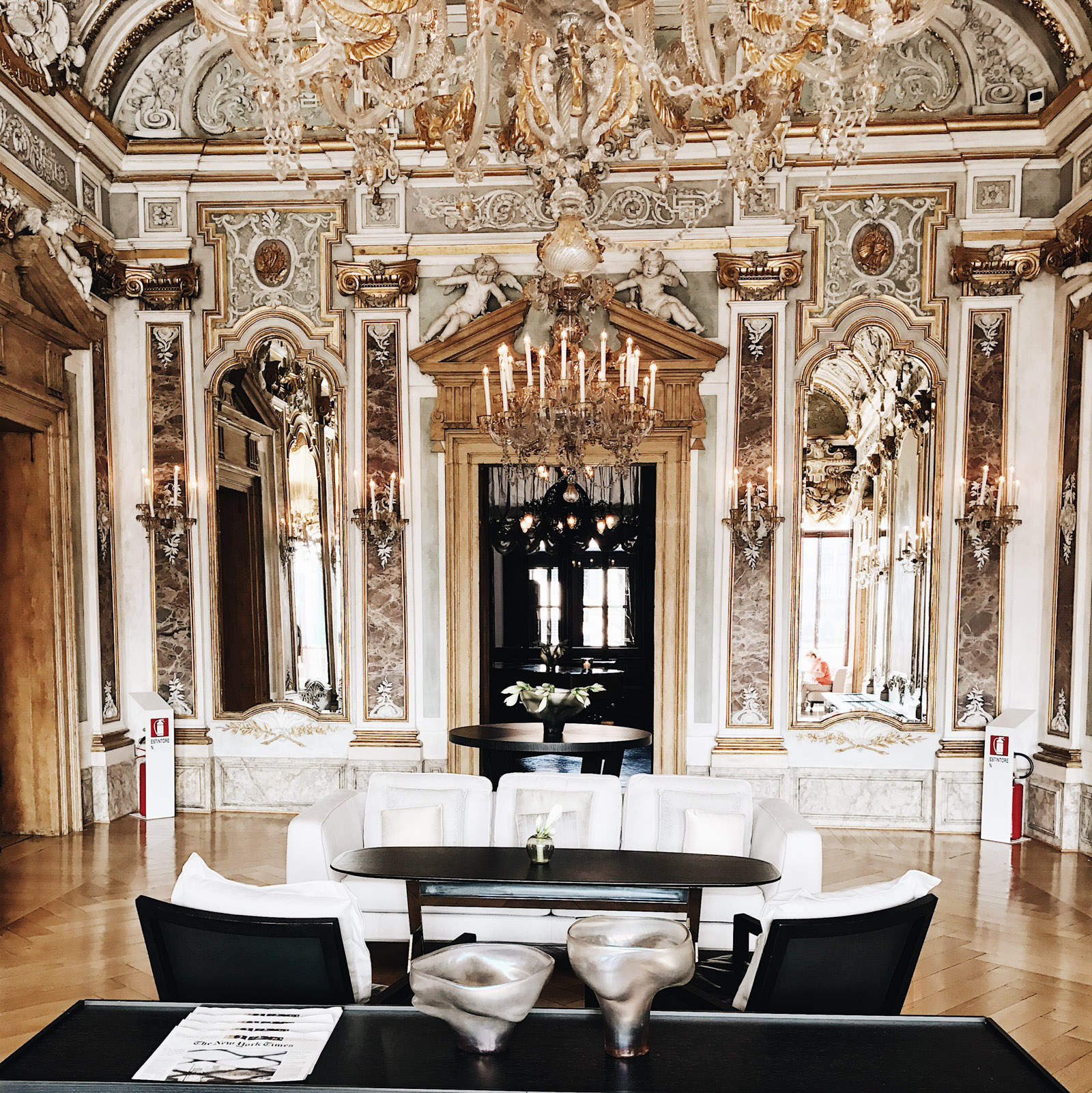 the golden ballroom