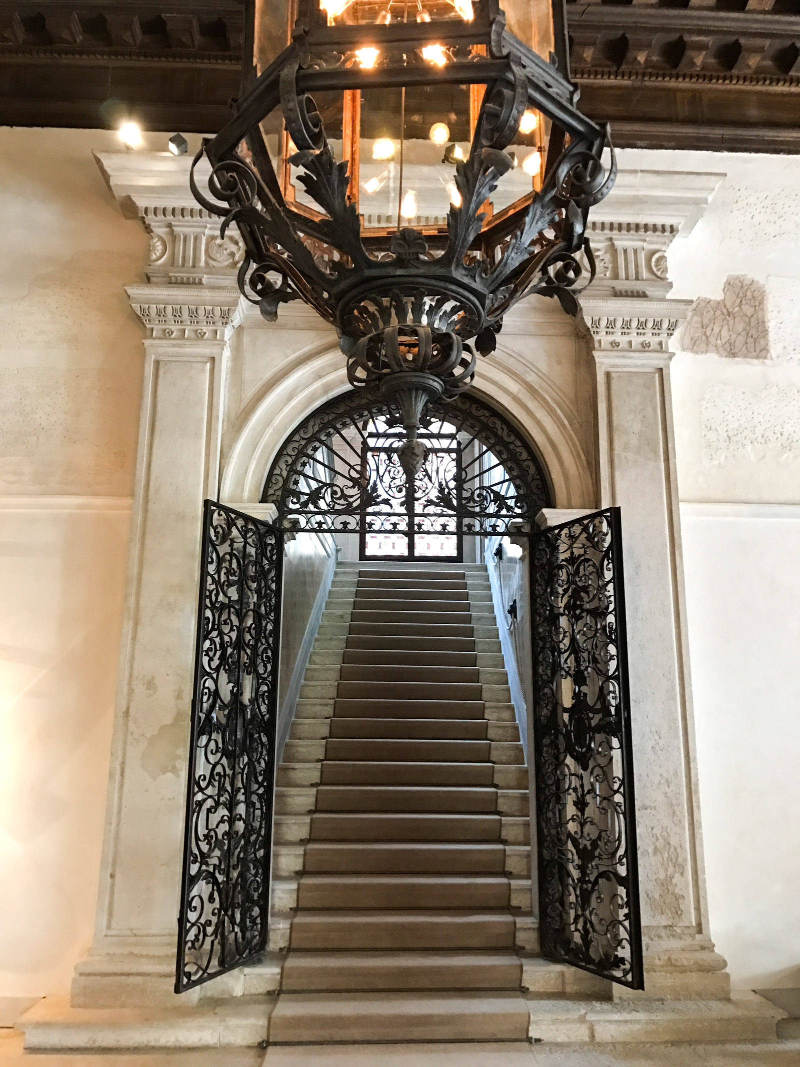 main staircase Aman Venice