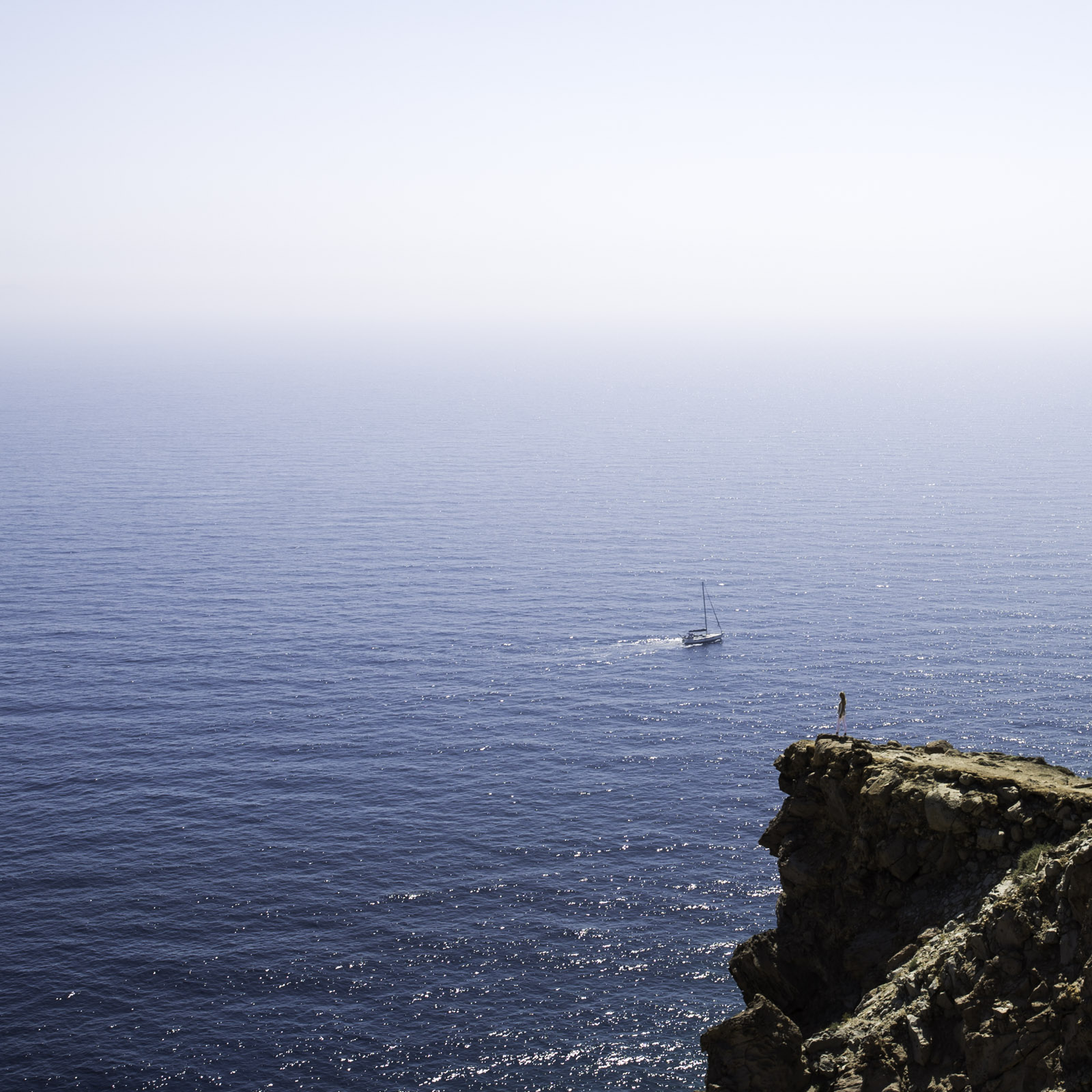 Seen from the Lighthouse Akrotiri