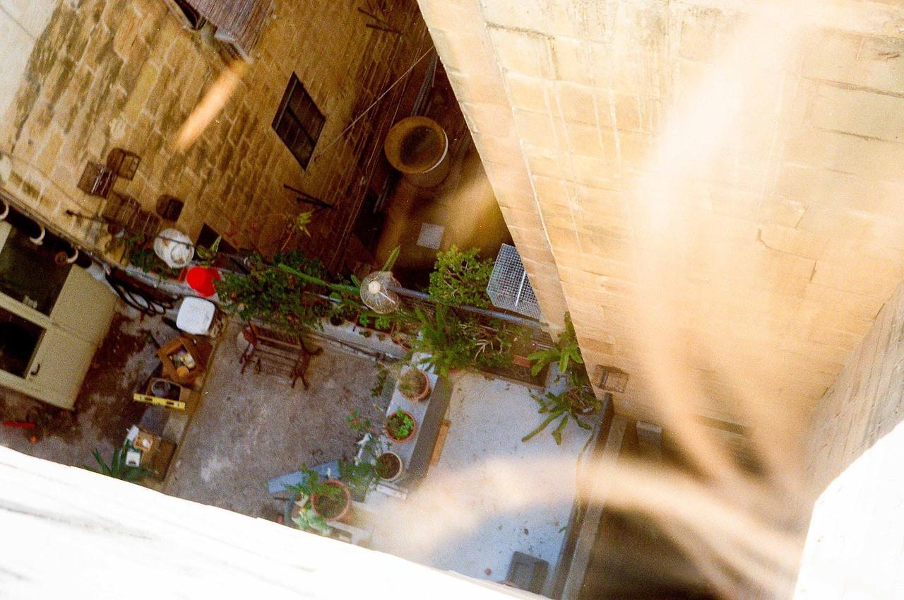Floriana airbnb, patio three of three   April 2017