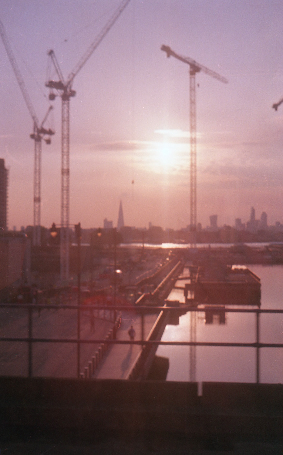 South London, seen from the DLR  August 2016