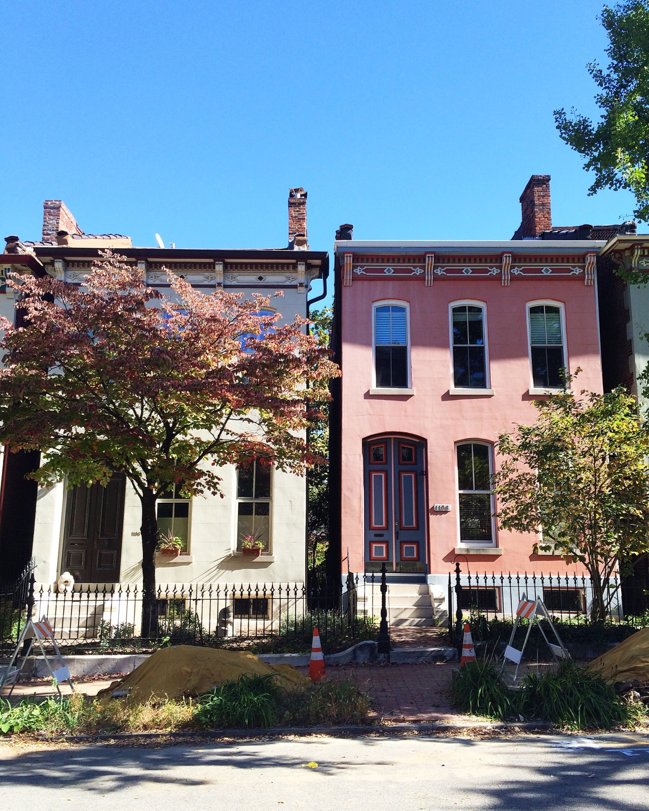 Lafayette Square  St. Louis, Missouri  October 2015