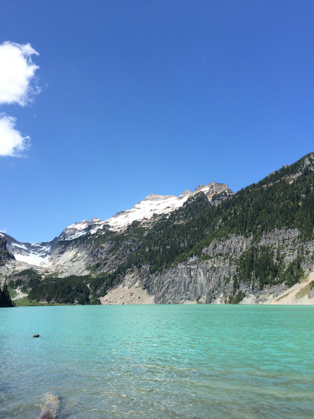 Blanca Lake, Washington  May 2015