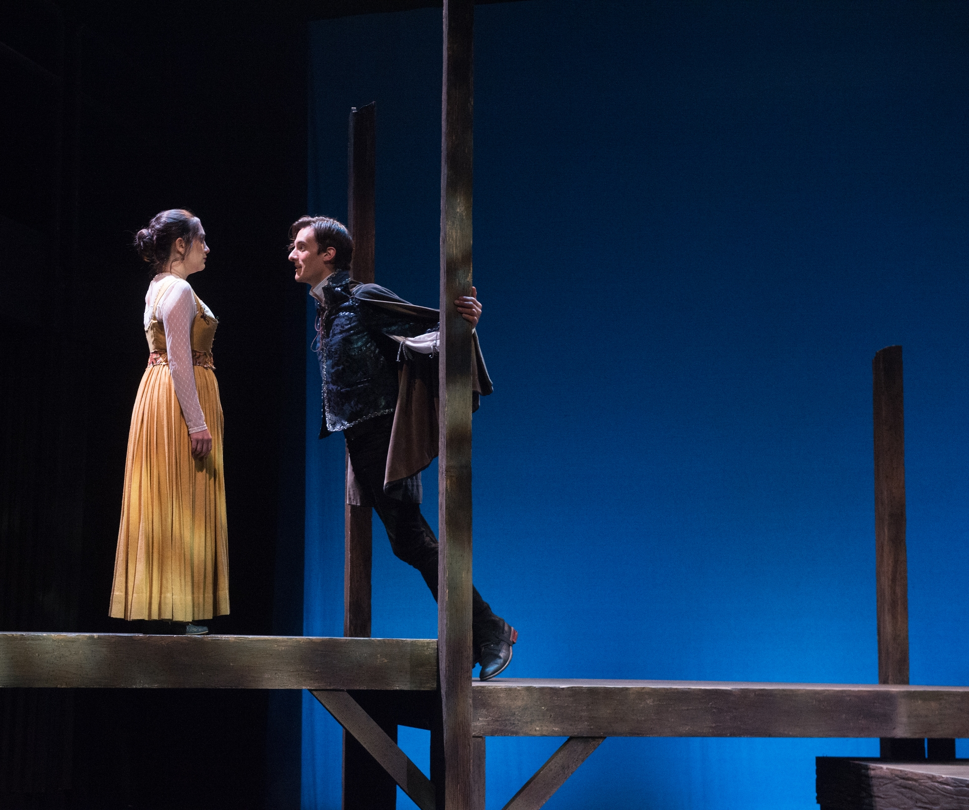 """""""… A DASHING CULOS FILLS THE BILL AS JESSICA'S LOVESTRUCK BUT NOT ESPECIALLY BRIGHT SUITOR"""" - Deborah Klugman, Stage RawRead full article."""