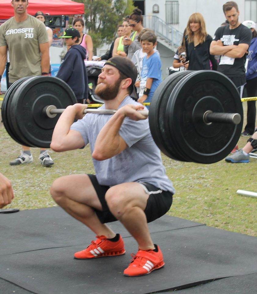 We had a lot of Front Squat PRs today!