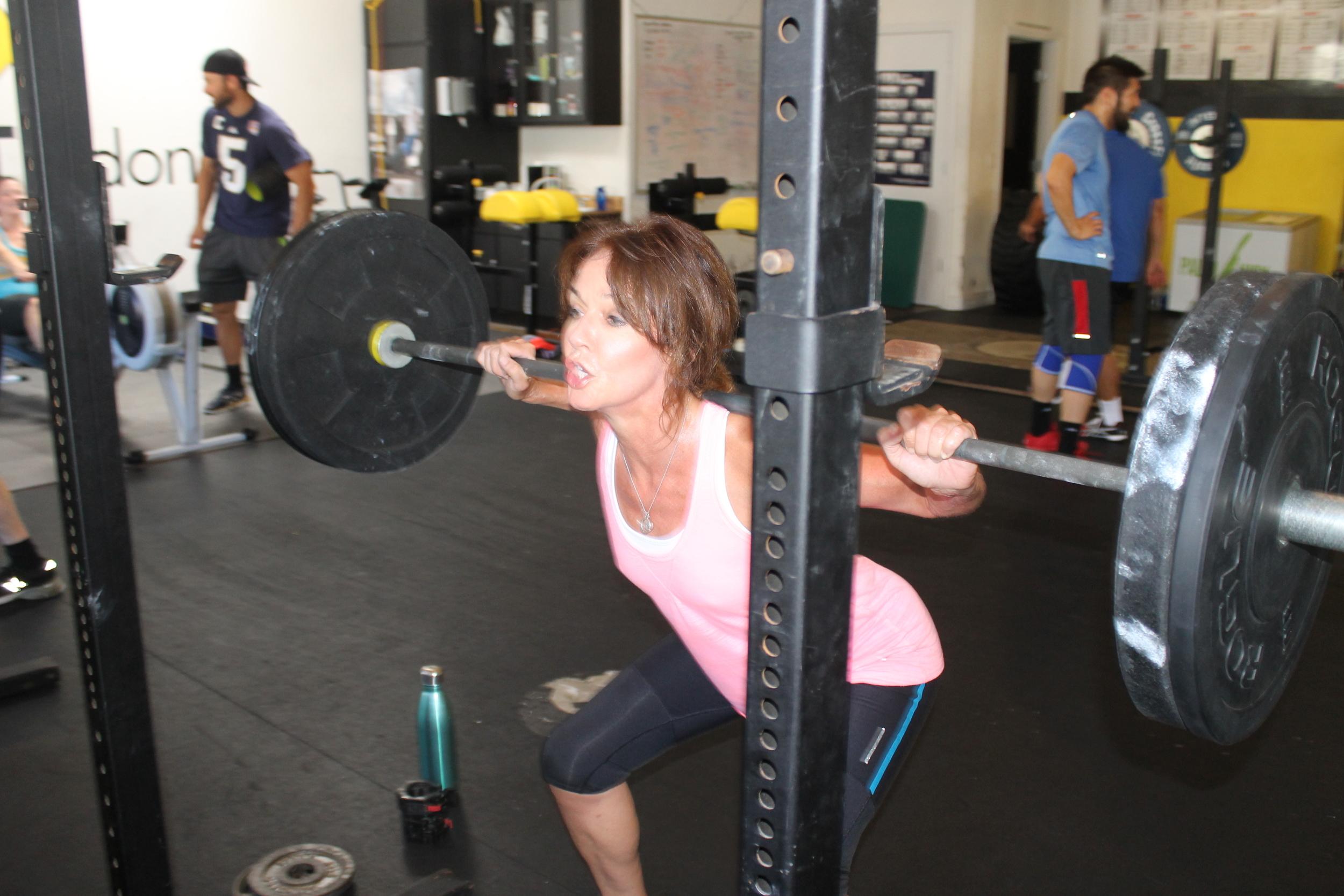 Jane crushing some Back Squats!