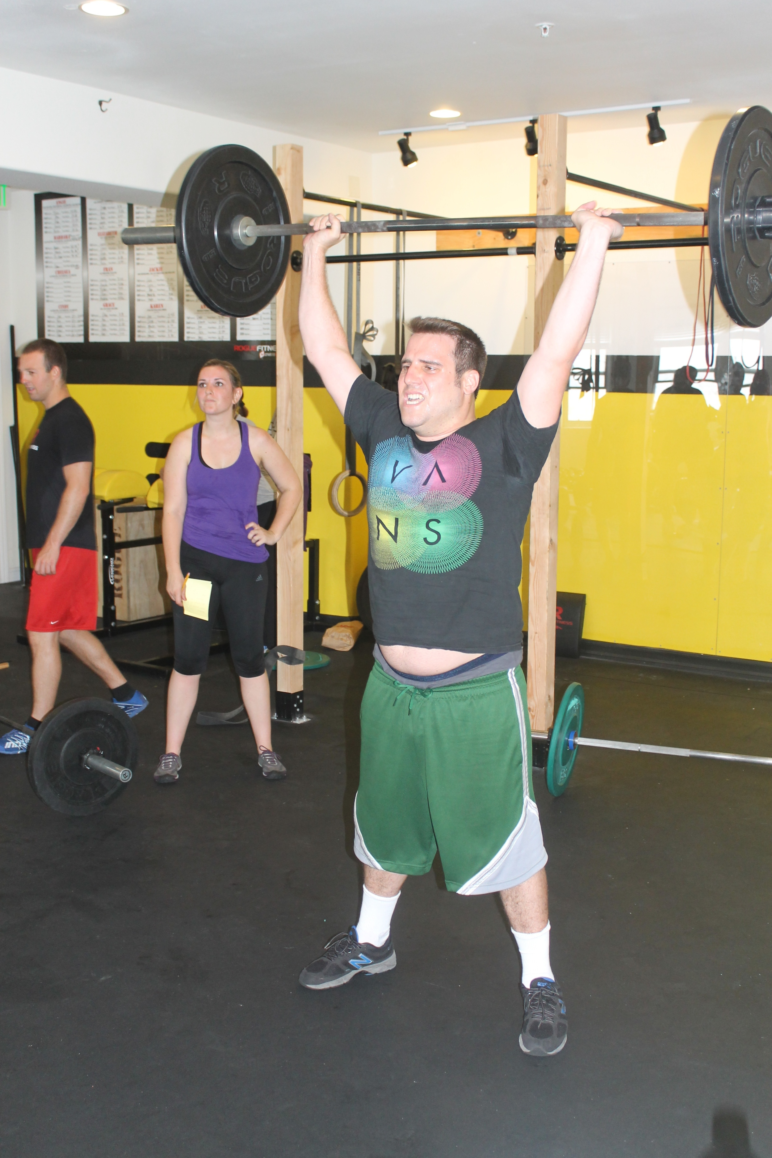 Congrats to Bryan Palmer for passing The Bar! He'll be back at the gym soon!
