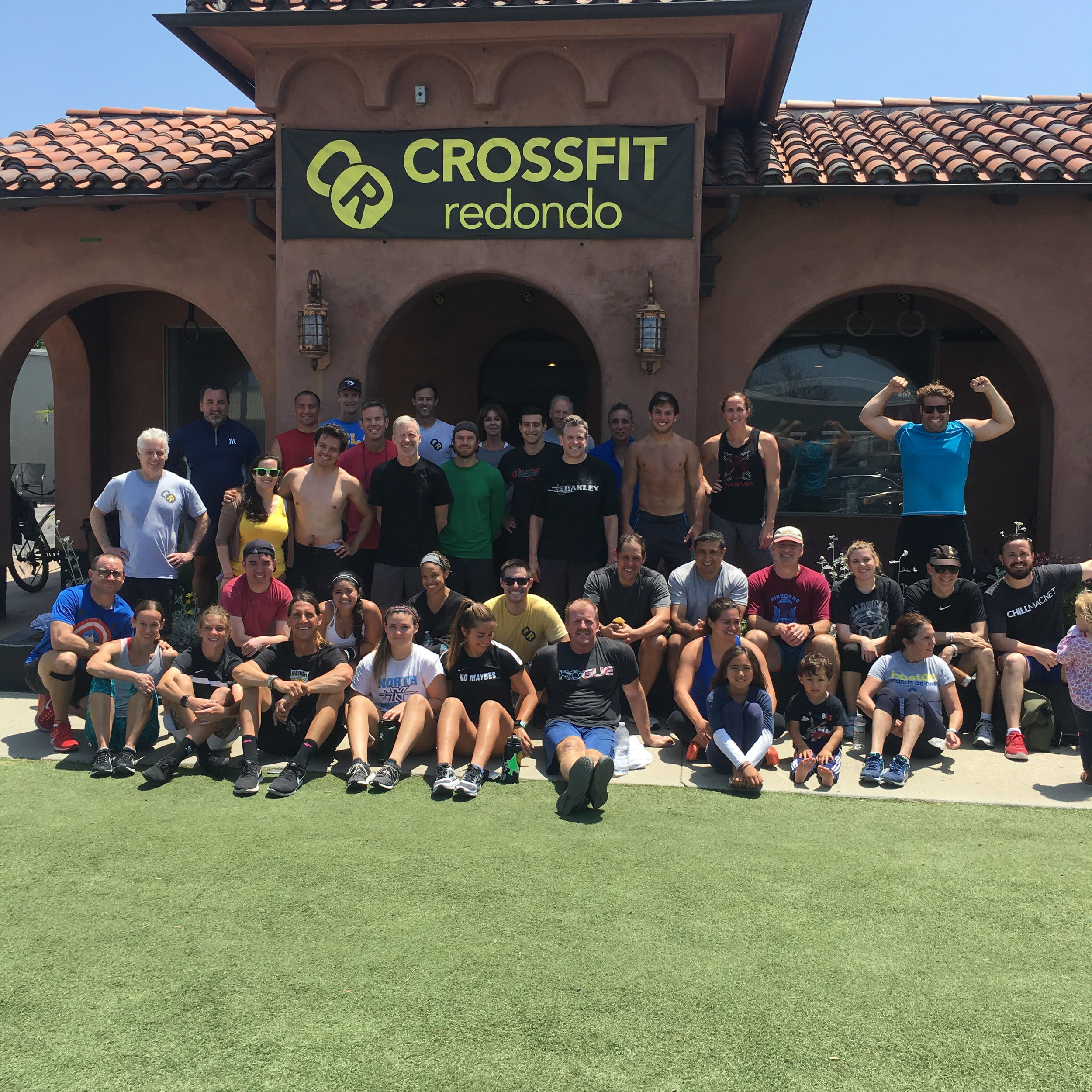 What a turnout! Congrats to all who did Murph on Monday!