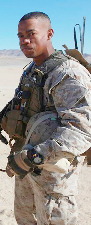 Marine Staff Sgt. Leon H. Lucas Jr. died Aug. 1, 2011, in Helmand Province, Afghanistan, of injuries sustained from an enemy grenade attack in the upper Gereshk Valley. The 32-year-old, of Wilson, North Carolina, was assigned to the 3rd Battalion, 4th Marine Regiment, Twentynine Palms, California, and served during Operation Enduring Freedom. Lucas is survived by his wife, Mary; and children, Tyson, Zachary and Quentin.