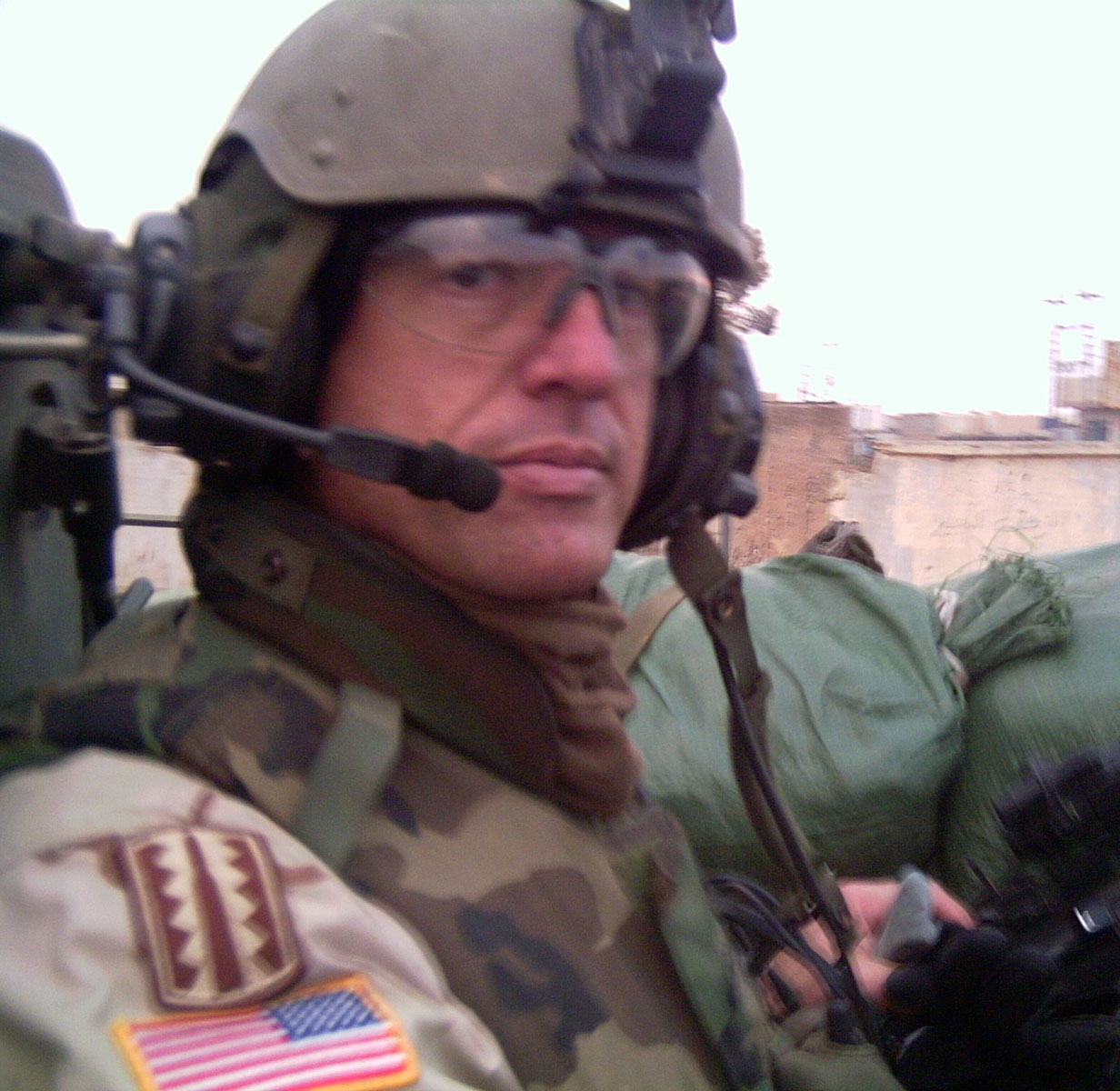 """U.S. Army First Sergeant Michael """"Hammer"""" Bordelon, 37, of Morgan City, Louisiana, assigned to the 1st Battalion, 24th Infantry Regiment, 1st Brigade, 25th Infantry Division (Stryker Brigade Combat Team), based out of Fort Lewis, Washington, died on May 10, 2005, from injuries sustained when a car bomb exploded near him in Mosul, Iraq on April 23, 2005.  He is survived by his wife Mila; children Mike Jr., Jacob, and Johanna; mother Dolores; and sister Doreen Scioneaux."""