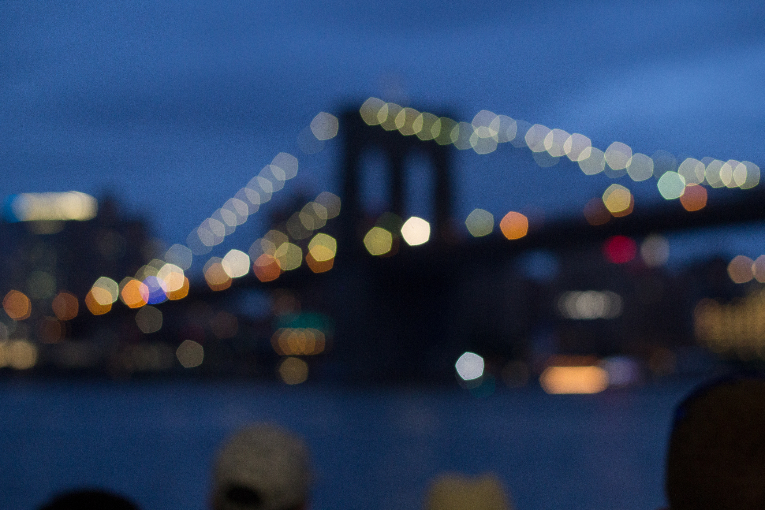 Bokeh Brooklyn Bridge