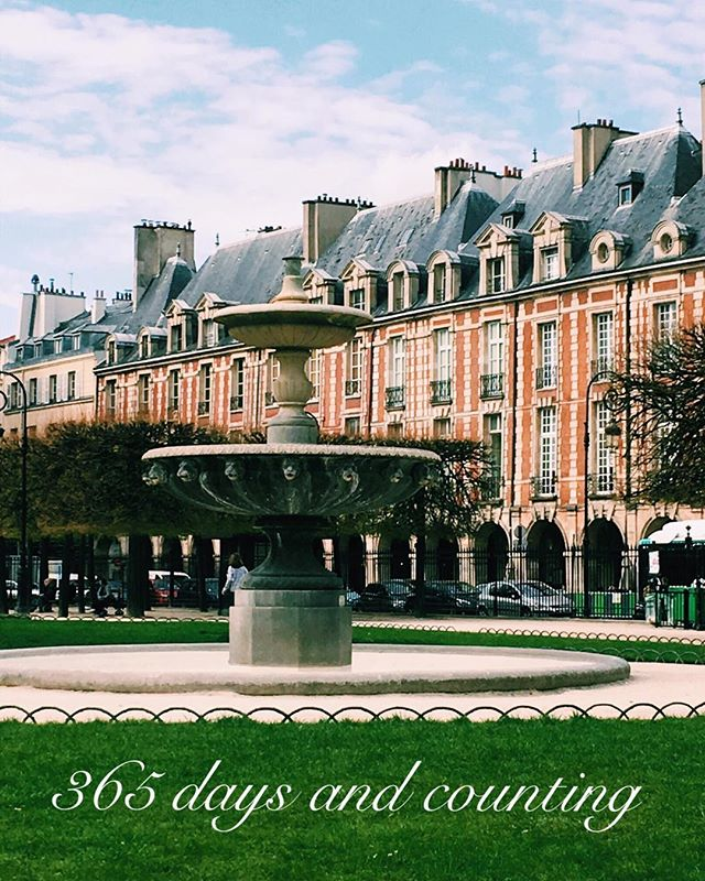 PARIS ⠀⠀ 365 days and counting. Can not wait for this gorgeous spot to be around the corner from the apartment we have rented. ❤️ @sandrataylor6878 #ipreview @preview.app