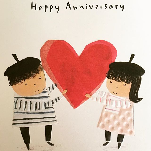 Happy Anniversary darling husband of mine. 17 years and counting. Through all the highs and lows, the laughing and the tears, we still manage to travel this journey together and for that I am eternally grateful.  You are not only a great husband but also the best dadda to our gorgeous children. Love you with all of my being. This was his card for me. I think I can safely say he does know me. ❤️