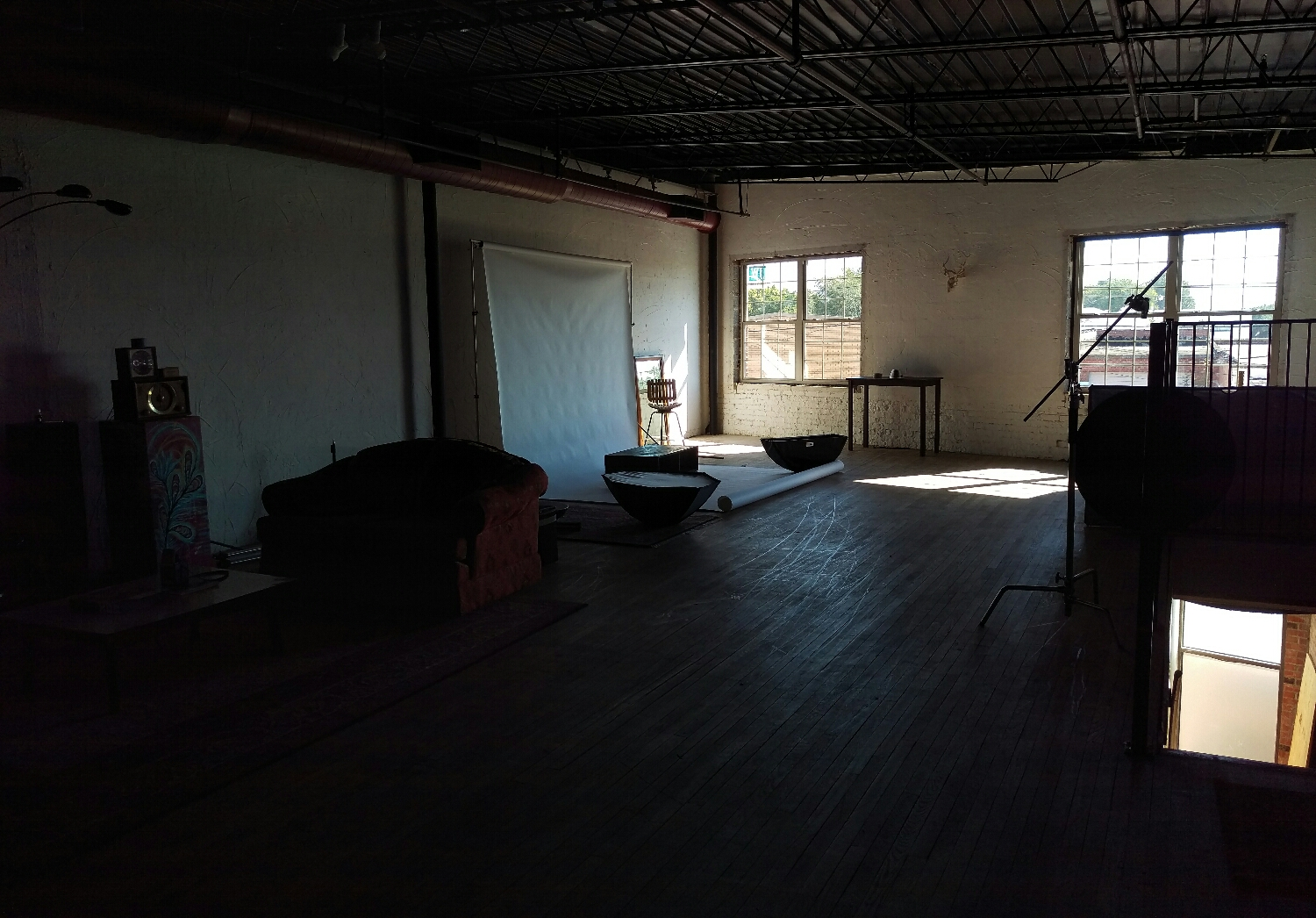 a view of the new space