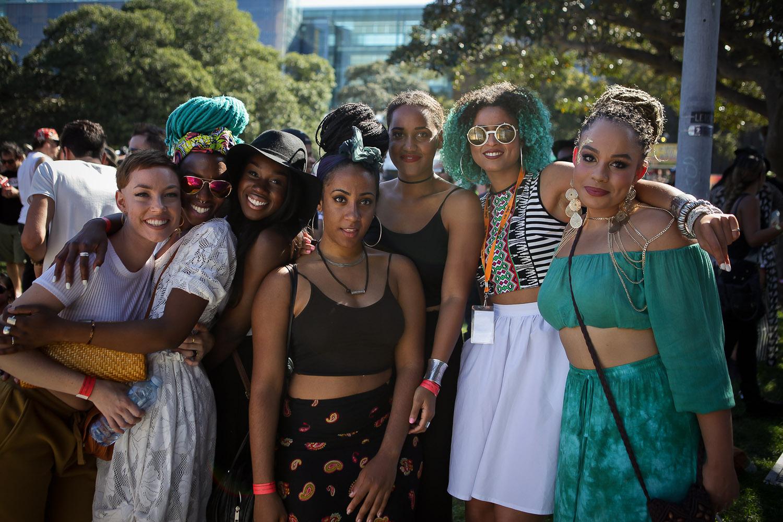 ladies at soulfest